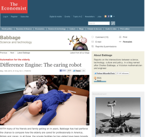 Robot - economist