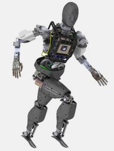 アトラスはこんなロボット。ペットマンに改訂を加えたものという。