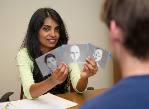 被験者は用途別にふさわしい顔を選んだ。(http://www.news.gatech.edu/より)