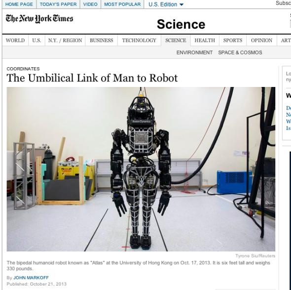 Robot - NYT