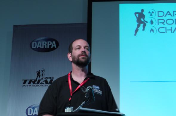 DARPAプロラム・マネージャーのギル・プラット氏