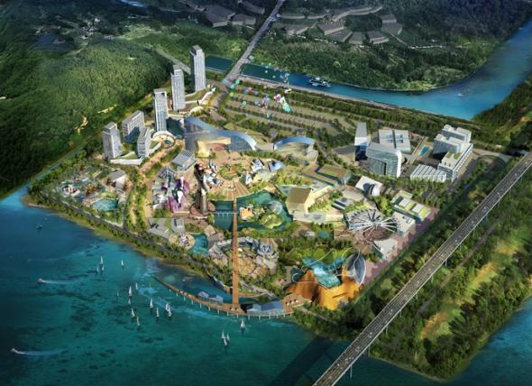 研究機関やテーマパークなど複合開発されるロボットランドの計画