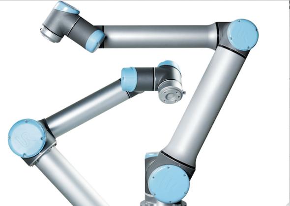 ユニバーサル・ロボット社の製品UR10とUR5