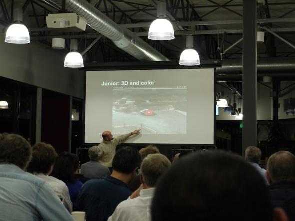 グーグル自走車開発でROSを用いているブライス・レブセイメン氏のプレゼンテーション