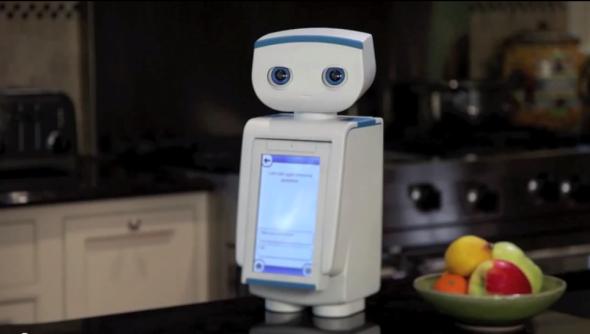 オートム社のロボットは、ダイエットをするユーザーを励まし、コーチの役割をしてくれる