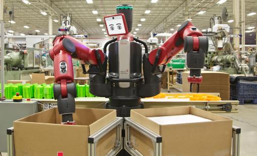 ロボットは本当に人間の職を奪うのか?(http://www.rethinkrobotics.com/より)
