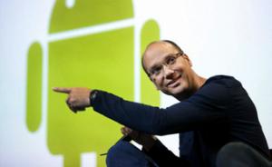 グーグル・ロボット部門の指揮をとるのはアンディ・ルービン(http://robohub.org/より)