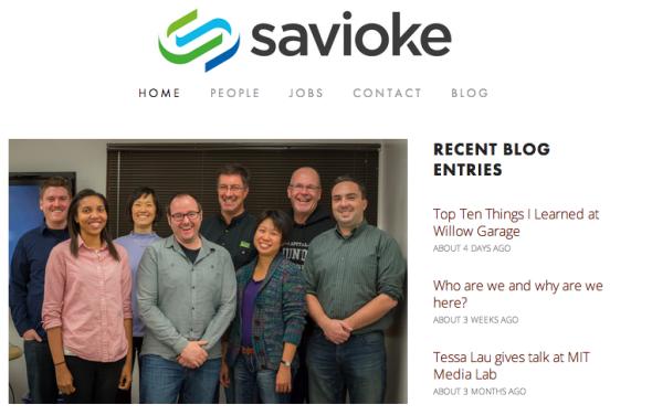 サヴォイキ社のサイト(http://www.savioke.com/より)