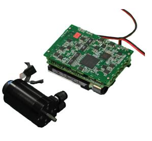 シャフト社が開発した水冷モーターとドライバー・モデュール(http://spectrum.ieee.org/より)