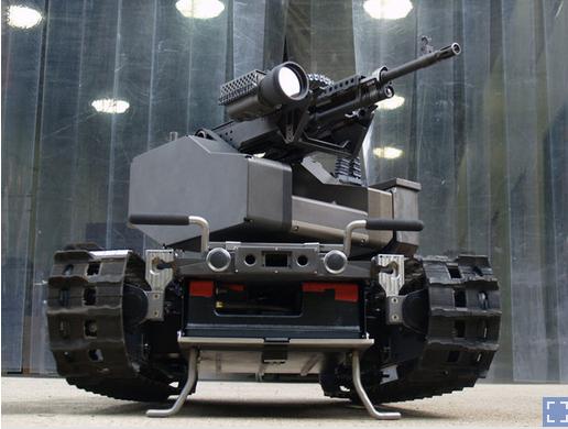 武器にもなるモデュラー・ロボット・システムTALON MAARS(http://www.npr.org/より)