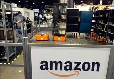 ますます事業を拡大するアマゾン社(http://www.therobotreport.com/より)