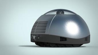 家庭用警備ロボットを目指すロシアのエックストゥーリオン社の製品(http://www.therobotreport.com/より)
