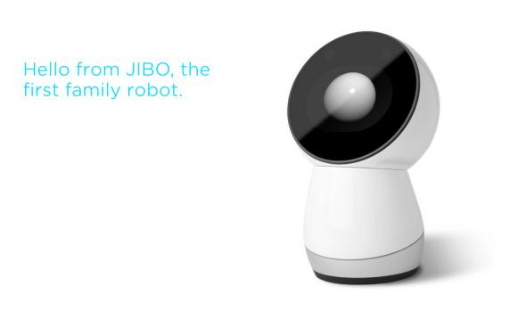 ジーボは、マンガのキャラクターのような動きも面白い。(http://www.myjibo.com/より)