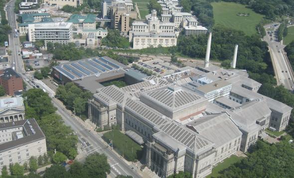 カーネギー・メロン大学のキャンパス(Photo by Jimmy Lin, CC-SA 2.0)