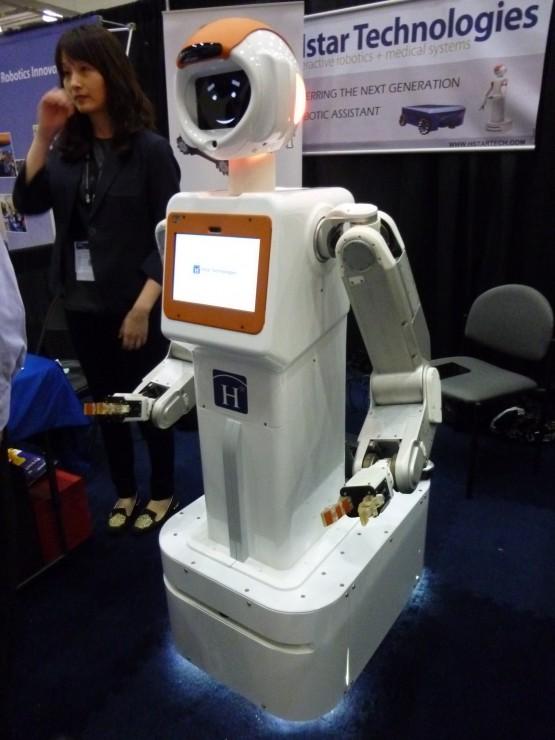 Hstarテクノロジーズ社の医療用アシスタント・ロボット