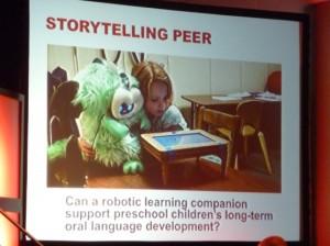 子供の学習コンパニオンとしてのロボット