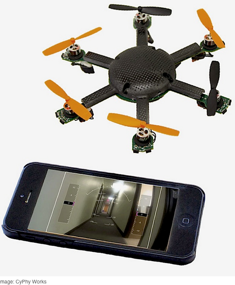スマートフォンと比べても、この小ささ!(www.http://spectrum.ieee.org/より)